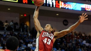 UNLV is a 2.5 point favorite against Cal in San Jose in the East Region second round.