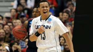 The Connecticut Huskies are led by senior PG Shabazz Napier