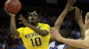 Michigan is an 11 point favorite against South Dakota St in Thursday's South region second round at Auburn Hills.