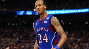 Kansas is a 6.5 point favorite against North Carolina in the South Third round Saturday in Kansas City.