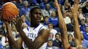 Alex Poythress was one of five Kentucky starters to reach double figure scoring in the win over Stony Brook in second round play.