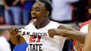 San Diego St is a 7.5 point favorite against Florida Gulf Coast Sunday in Philadelphia.