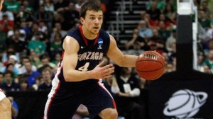 Kevin Pangos is averaging about four points less per game this season.