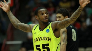 Baylor is an 8 point favorite at home against Providence in the NIT quarterfinals.
