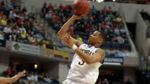 The Michigan Wolverines are led by point guard Trey Burke on the offensive end