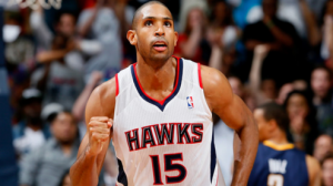 Al Horford had 21 points and 13 rebounds in the Hawks win over Washington on Wednesday night.