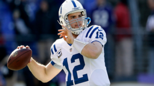 The Colts are 10 point favorites against the Redskins Sunday in Indianapolis.