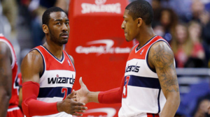 John Wall is averaging over 10 assists per game, and Bradley Beal is knocking down 47 percent from three.
