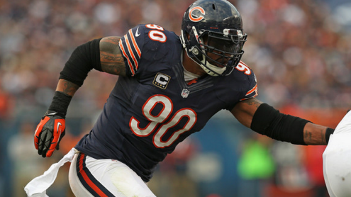 Julius Peppers is putting the finishing details on a HOF career.