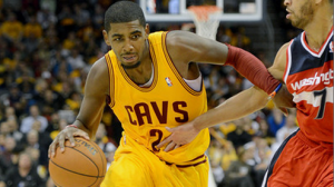 Kyrie Irving is continuing to produce at a high level, even sharing the ball with LeBron James