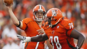 The Bowling Green Falcons are 6-0 ATS as road favorites since 2012