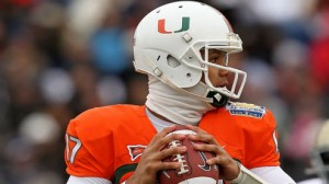 The Miami Hurricanes are led by quarterback Stephen Morris offensively