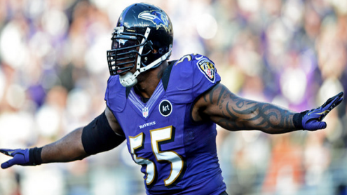 LB Terrell Suggs enters his 13th season, but will need a stronger second half this campaign.