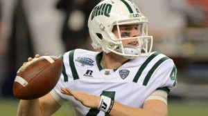 The Ohio Bobcats will have to replace longtime starter Tyler Tettleton