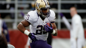 Washington is a 14 point favorite at home against Apple Cup rival Washington State Friday.