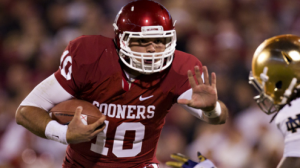 Oklahoma is a 9 point favorite at home against TCU Saturday in Big 12 action.