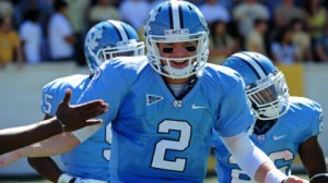 North Carolina is back from a post-season ban last year, and is one of the favorites to win the ACC Coastal Division.