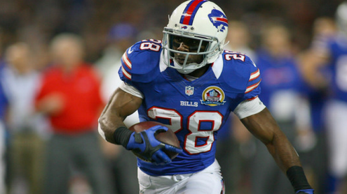 C.J. Spiller did a stellar job carrying the ball last season, but needs more receiving opportunities.