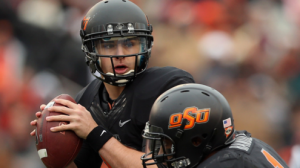 The Oklahoma State Cowboys are 20-6-1 ATS in their last 27 October games