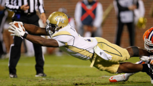 Georgia Tech is a 7 point favorite over ACC rival Virginia tech Thursday night in Atlanta.