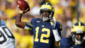 Michigan had a disappointing 7-6 season and looks to improve with 15 starters back.