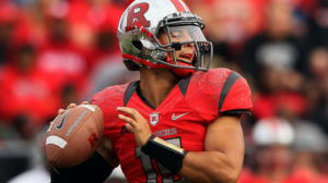 Rutgers moves to the Big Ten from the AAC in 2014.