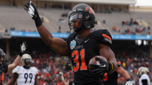 The Oklahoma State Cowboys are 9-3 ATS as favorites of 10.5 to 21 points since 2011