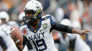 Navy is favored by 6.5 points against Middle Tennessee in the Armed Forces Bowl.