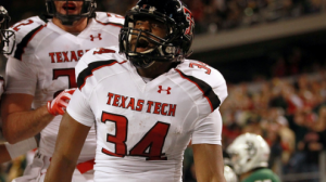Texas Tech is a 4 point favorite at SMU Friday night.