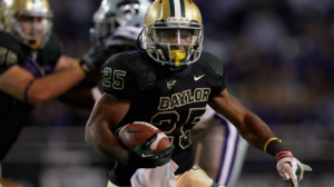 The Baylor Bears are outscoring opponents by a 319-49 margin in the first half this season