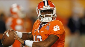 Clemson is a 14 point favorite at ACC newcomer Syracuse Saturday.