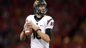 Arizona State is a 14 point favorite over Texas tech in the Holiday Bowl Monday in San Diego.
