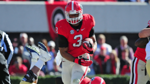 The Georgia Bulldogs won't have RB Todd Gurley for a couple weeks due to an NCAA violation