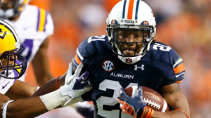The Auburn Tigers lead the SEC in rushing