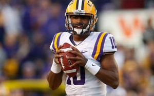 LSU is a 3 point favorite on the road at Texas A&M Thursday night.