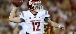 Washington State is an 8 point favorite against Rutgers Thursday night in Seattle.