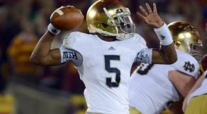 Notre Dame won 9 games and looks to improve with Everett Golson returning at quarterback.