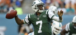 The New York Jets are staying patient with young quarterback Geno Smith in the early going this season