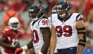 Clowney and Watt are ready to eat some Mettenbergers this Sunday.