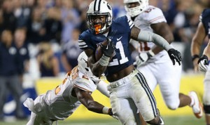 Jamaal Williams is averaging five yards per carry, but BYU has struggled since losing its starting QB.