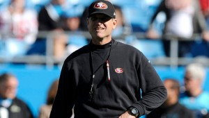 The San Francisco 49ers are 8-5 SUATS in preseason play under Jim Harbaugh