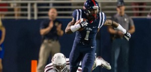Ole Miss is a 10 point favorite against Arkansas Saturday.