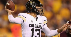 Colorado hosts Utah with the Pac 12 South title on the line for the Buffaloes.