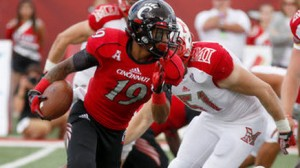 Cincinnati is one of the favorites to win the American Athletic title in 2014.