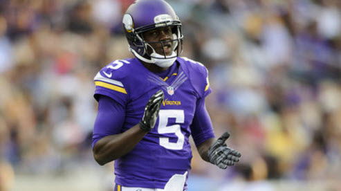 Vikings fans hopes lie on the rookie Teddy Bridgewater, despite Cassel being the uninspiring present.