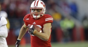 Alex Erickson is entering his senior season at WR for the Badgers.
