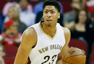 Anthony Davis is posting a PER of 25.
