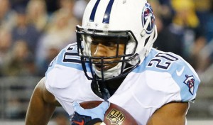 Bishop Sankey led the Titans with 74 yards on 12 carries in Week 1