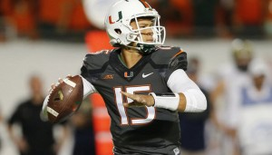 Brad Kaaya enters his junior season for first-year coach Mark Richt.