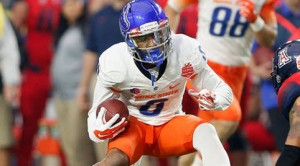 Senior WR Chaz Anderson is one of two returning starters at wide receiver for Boise State, who averaged 310.2 passing yards in 2015.